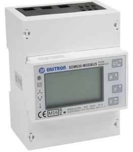 SDM630 3 fase kWh energie meter MBUS 100A LCD MID gekeurd